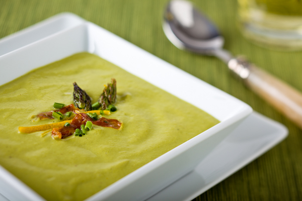 Спаржа в супах: суп-пюре из спаржи и суп из спаржи с лебедой